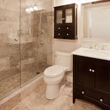 Houzz Bathrooms Modern by Small Bathroom With Walk In Shower Houzz Modern House Ideas Home