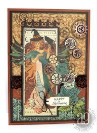 spirit halloween steampunk annette u0027s creative journey just for fun steampunk halloween card