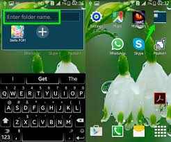 create folder on android how to create app folders in android ubergizmo