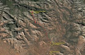 Google Map Arizona by Long Canyon Trail Sedona Arizona Arizona Trekker