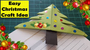 Paper Christmas Tree Crafts For Kids Easy Christmas Tree Bookmark Corner Easy Christmas Paper Crafts