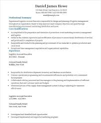 Resumes In Word Account Executive Resume Stunning Objective And Summer Internship