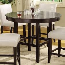 Kitchen Table Tall by Dining Room Best Round Tall Kitchen Table With 4 Chairs Set