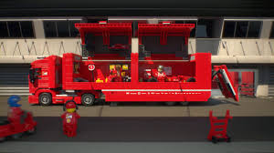 lego ferrari truck lego speed champions 75913 f14 t u0026 scuderia ferrari truck