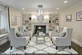 Shaggy Rugs For Living Room Contemporary Living Room With High Ceiling By Elite Staging And