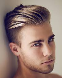 mens blonde short hairstyles latest men haircuts