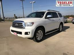 2013 toyota sequoia gas mileage used 2013 toyota sequoia for sale brenham tx 5tdyy5g15ds049933