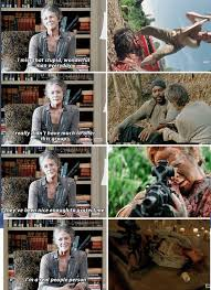 Carol Twd Meme - i love and hate her response she is all humble and gentle but