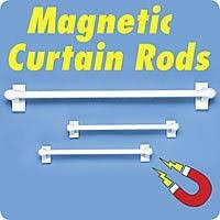 Magnetic Curtains For Doors Best 25 Magnetic Curtain Rods Ideas On Pinterest Magnetic