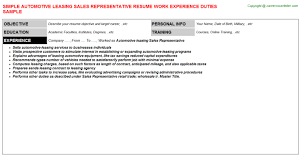 Leasing Consultant Sample Resume International Human Resource Management Research Paper Top