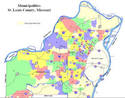 map st louis st louis county zip code map zip code map