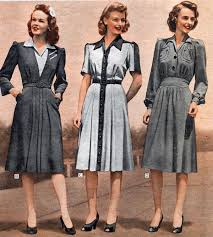 1940s dresses skirts styles trends pictures odwy 40s