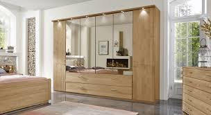 Schlafzimmerschrank Griffe Kleiderschrank Mit Schubladen Spiegel Und Falttüren Narita