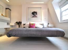 diy platform bed with storage scandinavian bedroom by kia designs