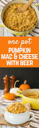 one pan pumpkin macaroni and cheese with beer rachel cooks