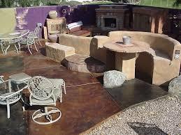 Stain Concrete Patio by Patio U0026 Pool Decks