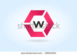 stock images similar to id 285654029 logo letters w