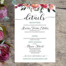 ceremony cards for weddings wedding enclosure cards wedding details cards by shadow