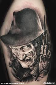 freddy krueger horror tattoo design 2 tattoos book 65 000