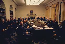 presidential kitchen cabinet file president nixon with his first term cabinet jpg wikimedia commons