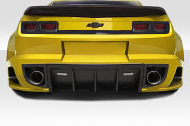 2011 camaro kits 10 13 chevrolet camaro ccg duraflex wide rear bumper lip kit