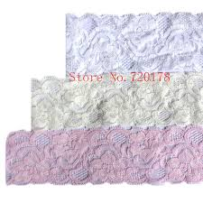 lace ribbon by the yard 2inch elastic lace trim hair accessories stretch lace trim lace