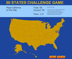 United States Maps by United States Map Game 50 States Challenge By Dexterfly Codecanyon