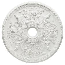 Home Depot Decorative Trim Westinghouse Cape May 28 In White Ceiling Medallion 7775400 The