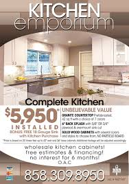 complete kitchen 5 950 installed kitchen emporium san diego ca