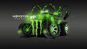 monster energy traxxas summit fantasy acid car 2013 el tony