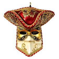 venetian carnival mask aqua white and gold venetian carnival mask with hat