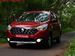 renault lodgy renault lodgy stepway world edition drives into goa