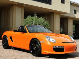 orange porsche convertible 2008 porsche boxster limited edition