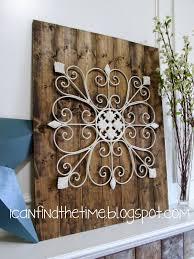 Metal Wall Decoration Modest Decoration Metal And Wood Wall Art Enchanting Metal Wall