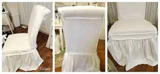 How To Make Dining Room Chair Slipcovers Sweet Melanie How To Make A Dining Chair Slipcover