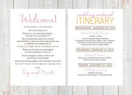 destination wedding itinerary template welcome letter wedding welcome letter wedding itinerary hotel