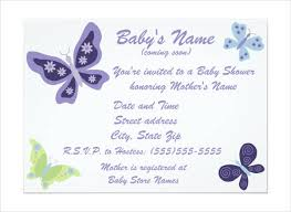 Butterfly Invitations Butterfly Invitation Templates 9 Free Psd Vector Ai Eps