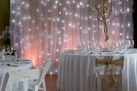 wedding backdrop fairy lights fairy light curtain from get knotted wedding hire collection
