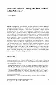 General Power Of Attorney Philippines by Real Men Cutting And Male Identity In The Philippines1