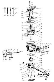 zenith 10244 carburetor kit manual and parts