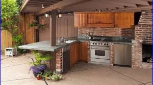 ideas for outdoor kitchen outdoor kitchen ideas and pool house plans diy pertaining