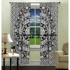 indian tapestry curtains instacurtains us