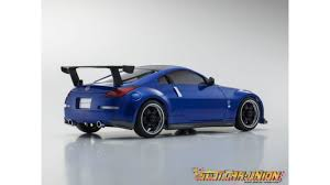 nissan sports car blue kyosho mini z ma020 sports 4wd nissan fairlady z z33 kt19