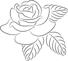 design flower rose drawing small easy how simple rose drawing tutorial to draw a beautiful