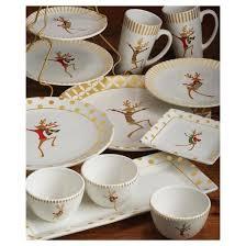 gold reindeer dinnerware collection target