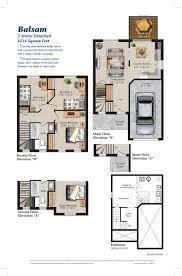 barrie heritage south balsam floor plan pratt homespratt homes