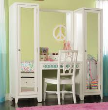 Girls Wooden Vanity Lily 4 Pc Vanity Wall Chair Extra By Opus Designs Wayside