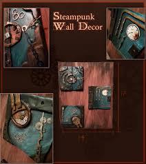 Steampunk Home Decor Ideas Steampunk Wall Decor Shenra Com