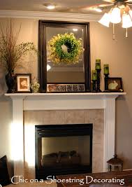 Decorating A Florida Home Decorating A Fireplace Mantel Easter Spring Mantle Mantel