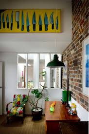 eclectic sydney house presents colorful and quirky interiors art